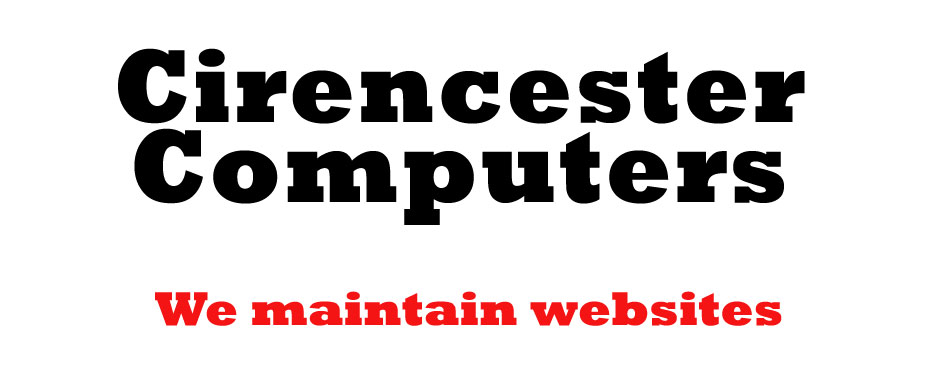 Cirencester Computers maintain websites