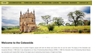 Cotswolds Website